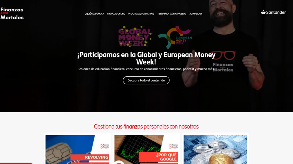 Finanzas para Mortales participa en laGlobal Money Week