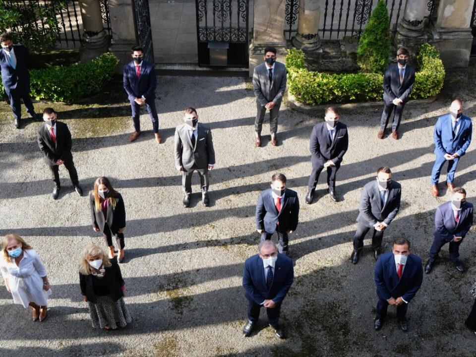 Alumnos de la actual promoción del Máster en Banca y Mercados Financieros
